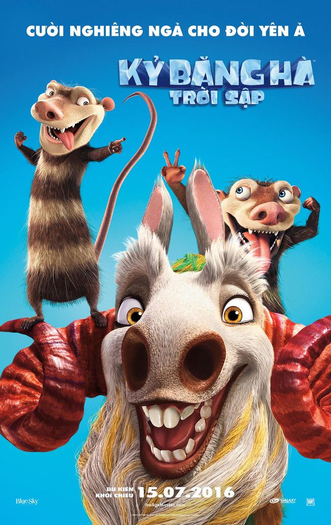 """""""Kỷ Băng Hà: Trời Sập"""" là phần phim hay nhất qua trailer 3"""