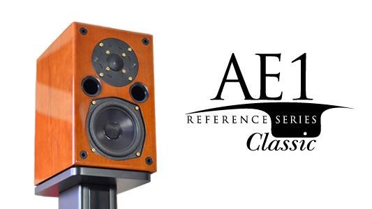 Acoustic Energy chuẩn bị tung ra 100 cặp loa AE1 cuối cùng