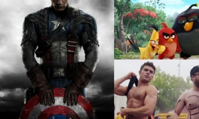 """""""Captain America: Civil War"""" nhường chỗ cho những chú chim điên"""