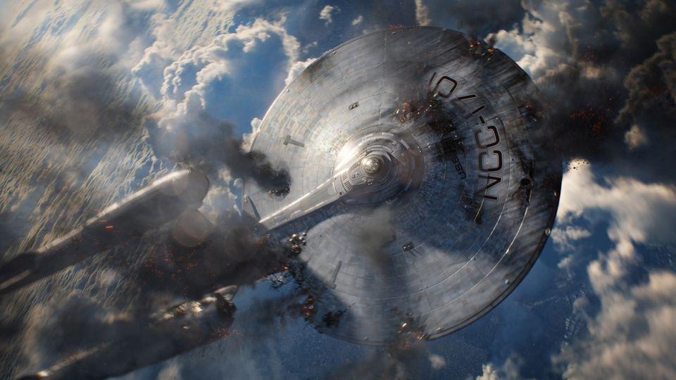 """Choáng với các pha hành động không gian của """"Star Trek Beyond"""""""