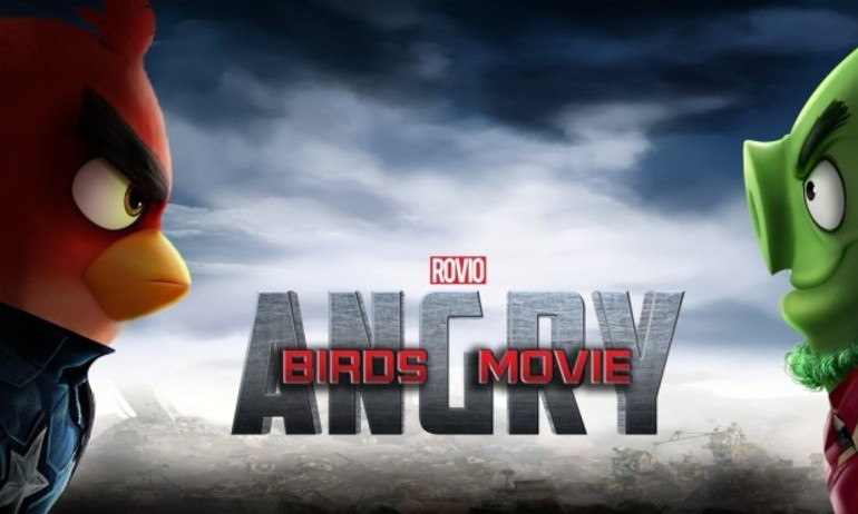 "Khi ""Angry Birds"" nhái  ""Captain America: Civil War"""