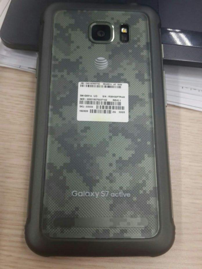 Galaxy S7 Active bất ngờ lộ diện tại Việt Nam