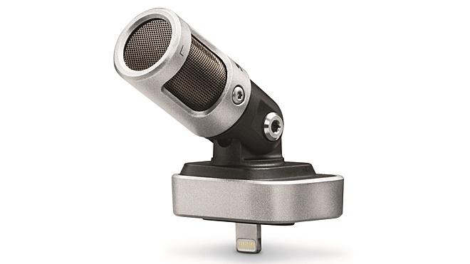 Shure Motiv MV88 – microphone dùng cổng Lightning chất lượng cao