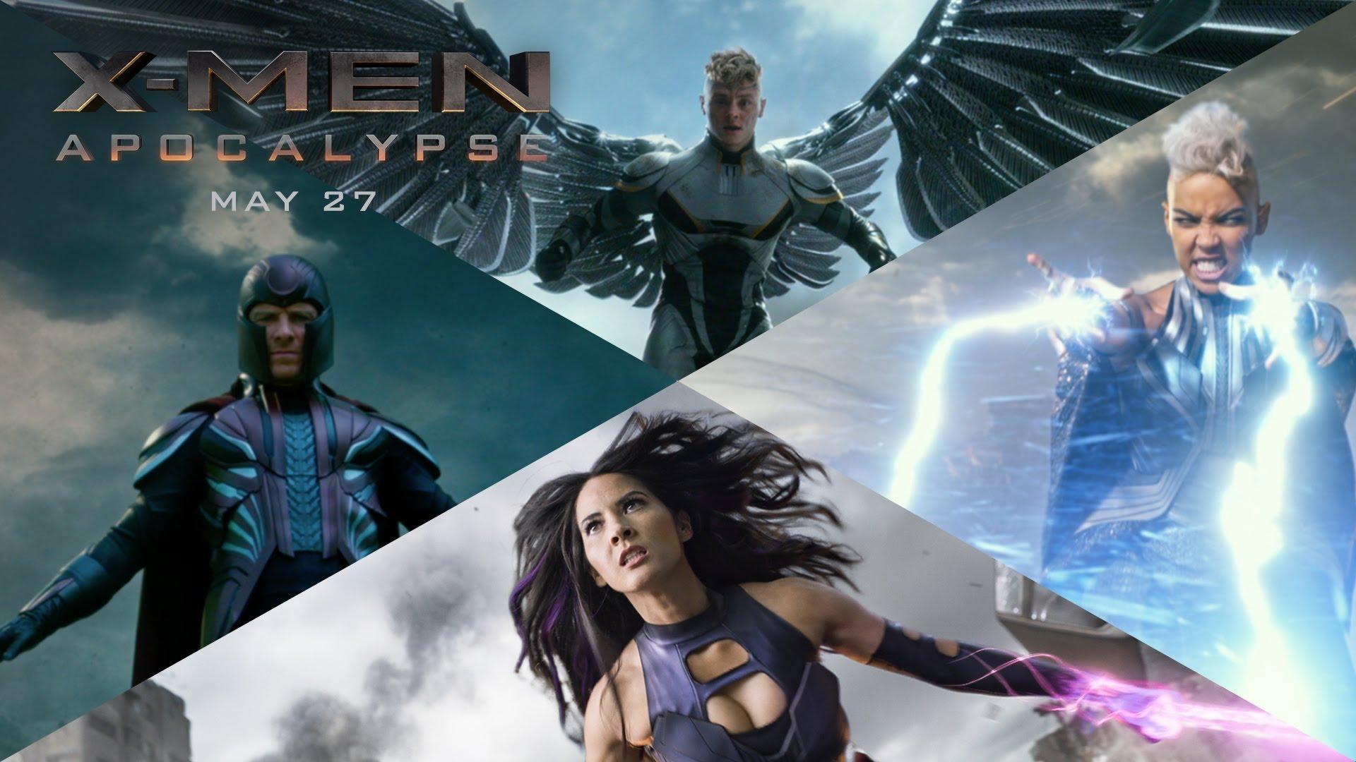 Sức mạnh đỉnh cao của 4 kị sỹ khải huyền trong X-Men: Apocalypse