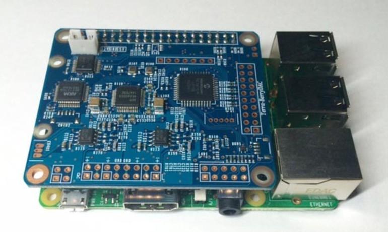 Terra Berry – module DAC giải mã DSD dành cho Raspberry Pi
