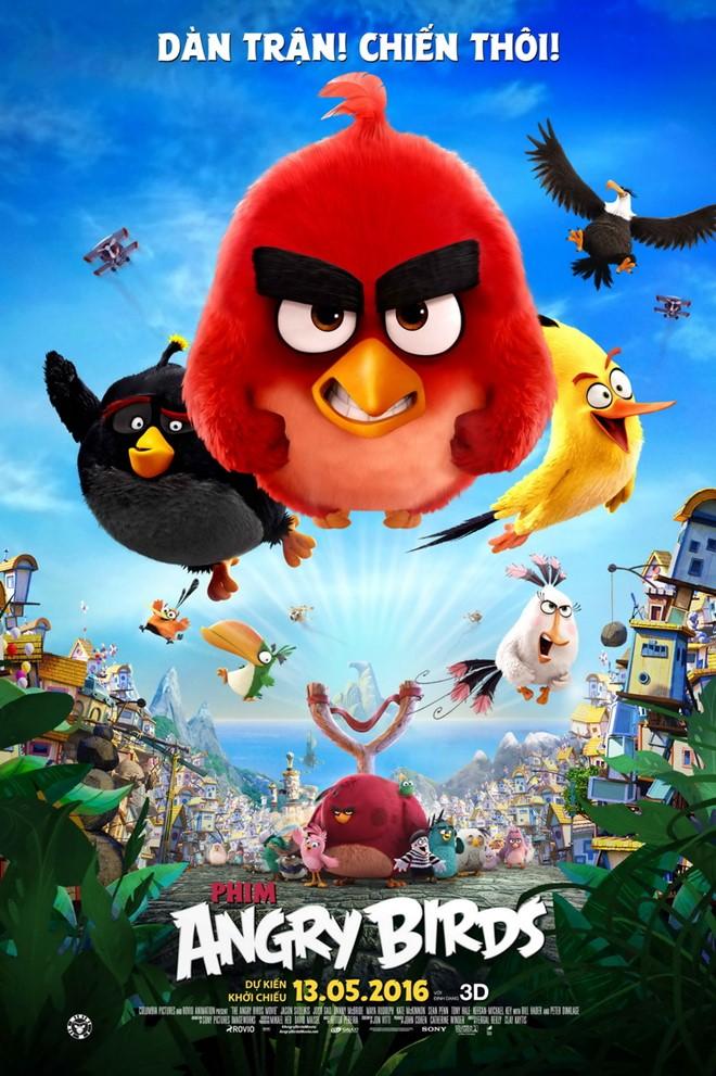 """""""The Angry Birds Movie"""" – Hoạt hình hay là đoạn quảng cáo 90 phút"""