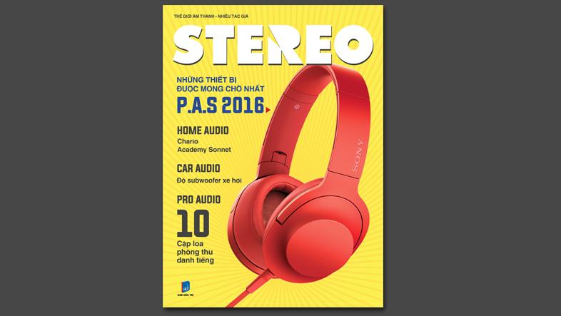 Ấn bản Stereo tháng 5/2016 chính thức ra mắt độc giả