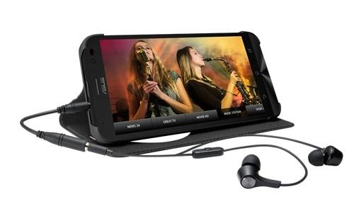 Zenfone Go TV: Tích hợp sẵn bộ giải mã TH KTS, giá rẻ