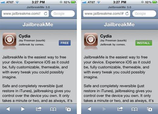 iOS 9.3.2 đã bị Jailbreak, không cần dùng tới máy tính