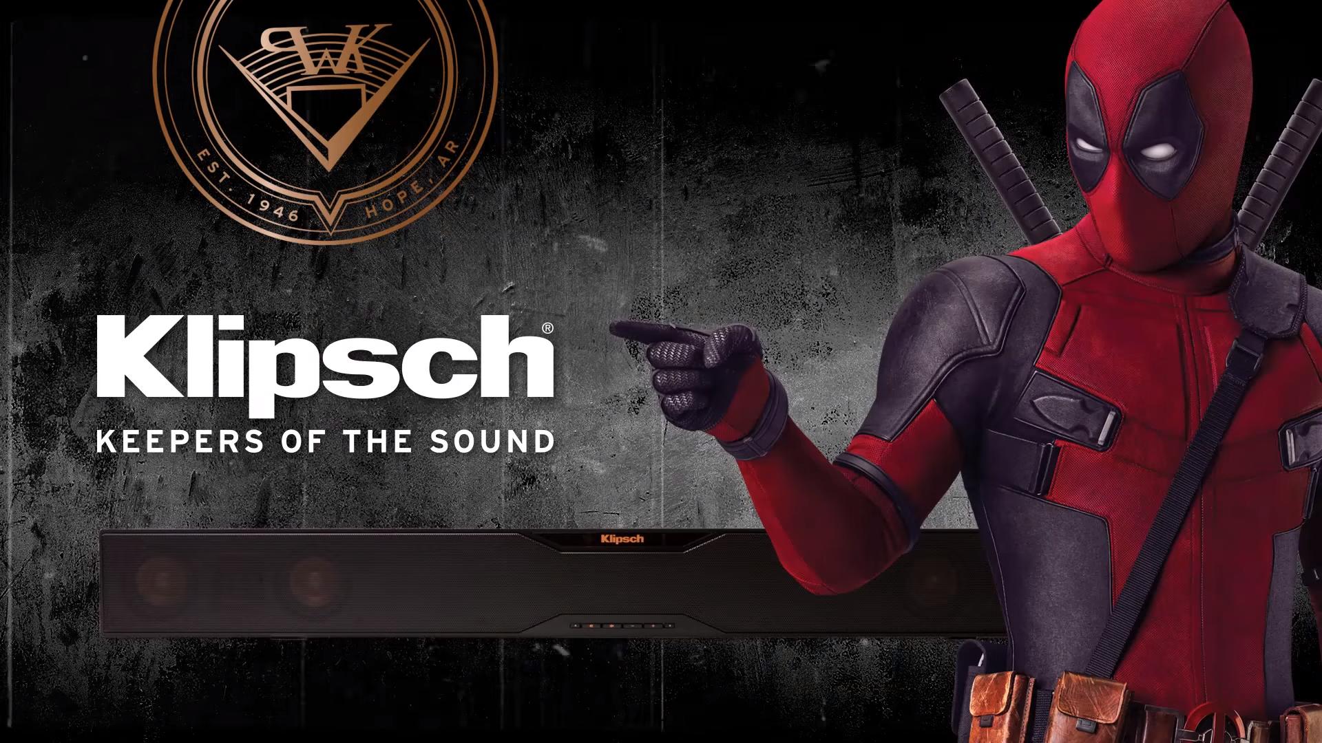 """Klipsch ra mắt trải nghiệm xem Deadpool tại nhà """"y như ngoài rạp"""""""