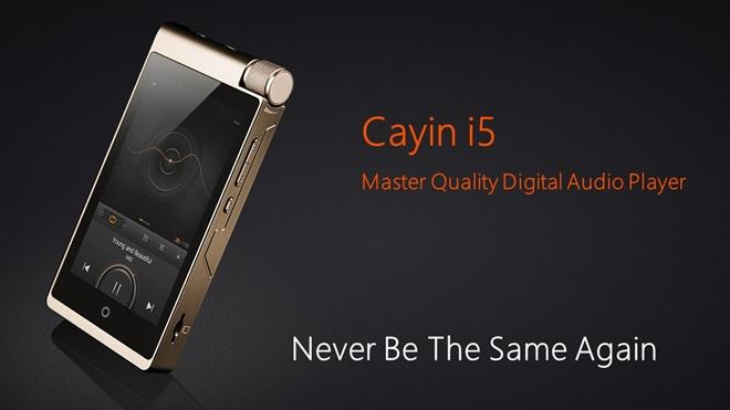 Cayin giới thiệu máy nghe nhạc i5: chơi DSD, hỗ trợ Android, USB-C