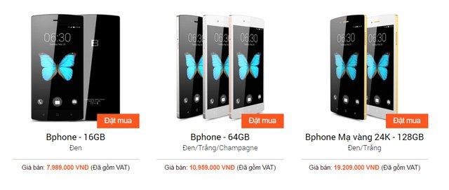 Người dùng đã có thể mua Bphone với giá chỉ từ 3,9 triệu