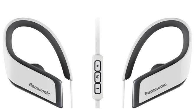 Panasonic RP-BTS30: tai nghe thể thao, chống nước, sạc nhanh