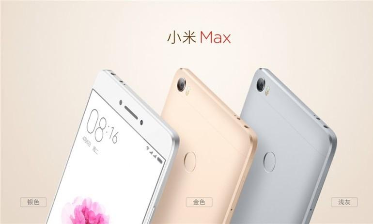 Xiaomi Max ra mắt: Màn hình 6,4 inch, pin 4850mAh, giá từ 5,1 triệu