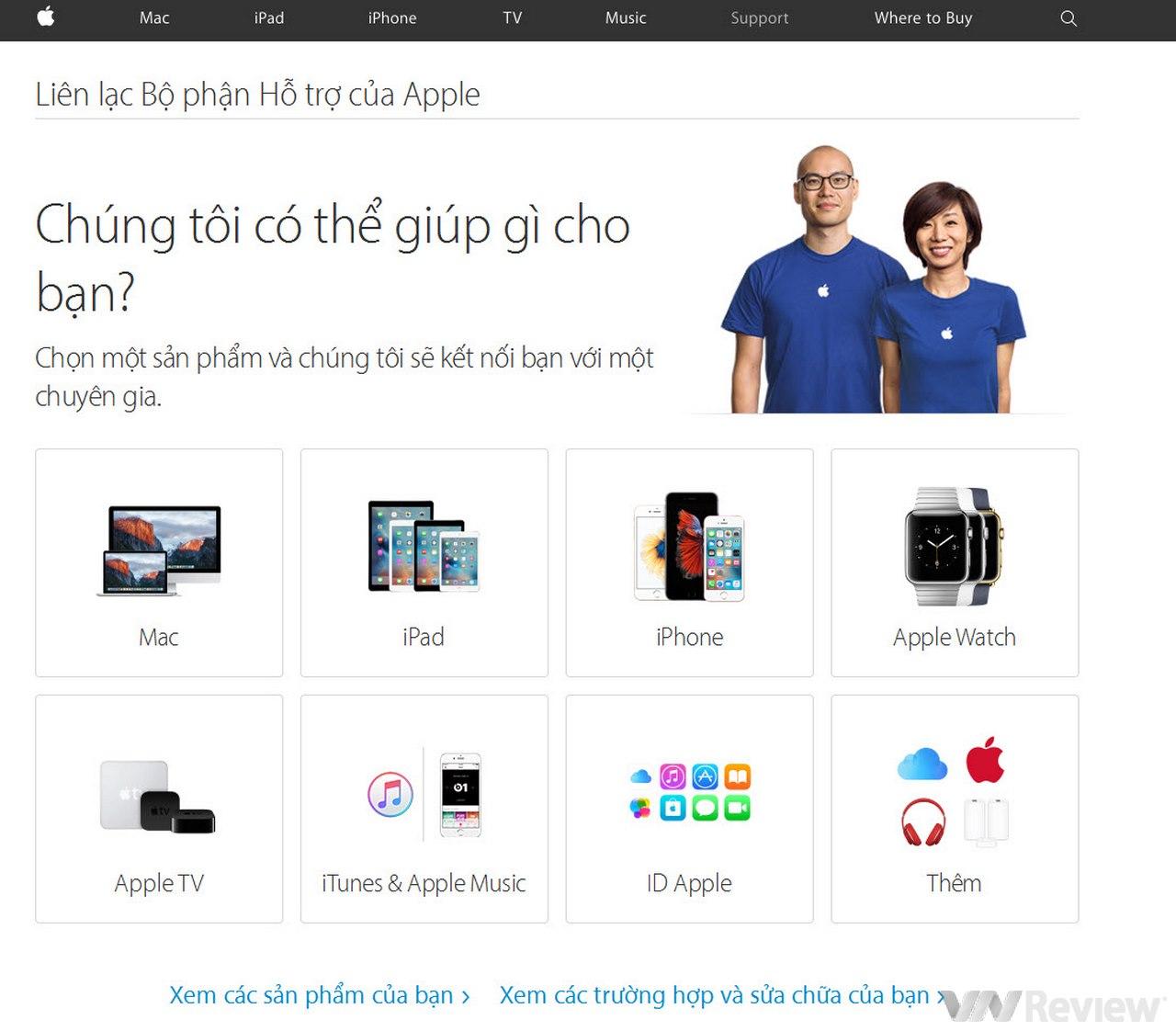 Apple mở tổng đài hỗ trợ bằng Tiếng Việt, máy xách tay cũng nhận