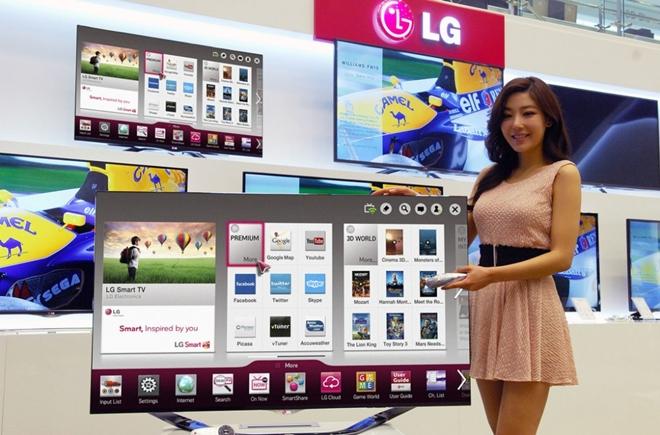 LG khuyến mãi loa bluetooth khi mua Smart TV nhân mùa Euro 2016