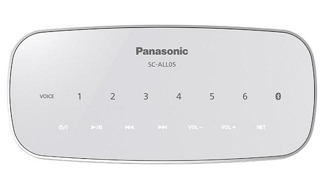 Panasonic SC-ALL05, loa di động thiết kế để nghe nhạc trong khi … tắm