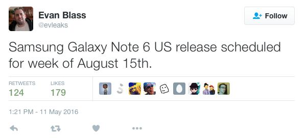 Galaxy Note 7 được xác nhận: Có cảm biến võng mạc và chống nước
