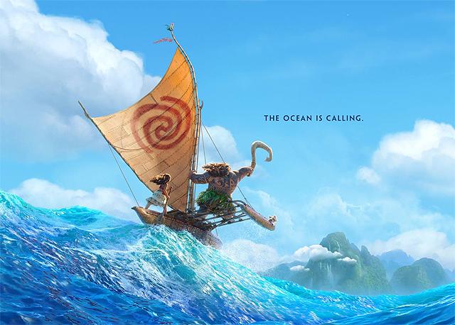 "Sau ""Zootopia"", Disney trở lại mạnh mẽ với ""Moana"""