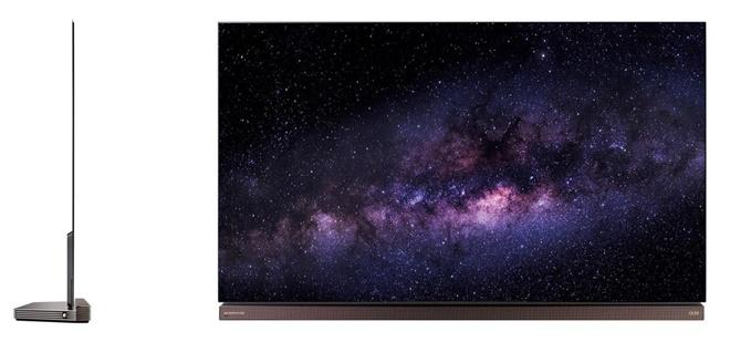 LG giới thiệu phiên bản 77inch của dòng TV OLED đầu bảng G6