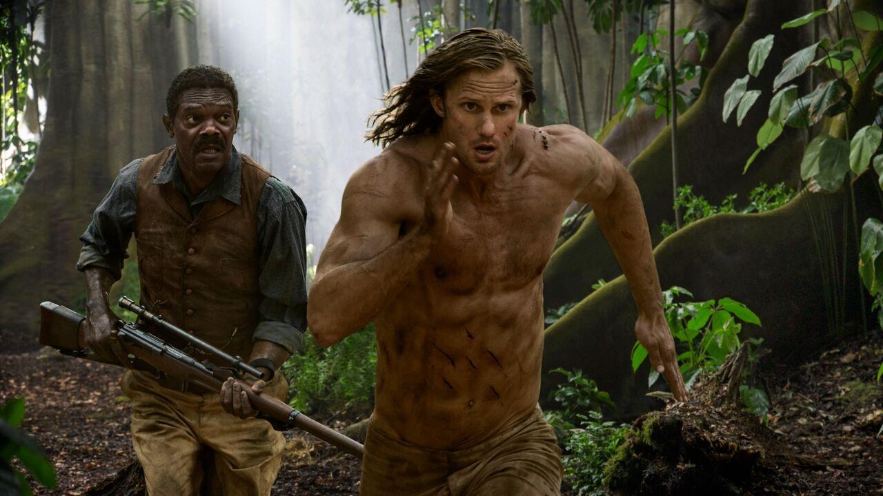 Rùng mình cuộc chiến dữ dội của Tarzan với bầy vượn khổng lồ