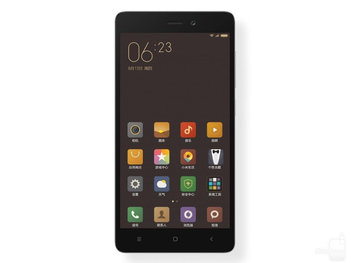 Xiaomi Redmi 3S: Cảm biến vân tay, vỏ kim loại, giá 2,3 triệu