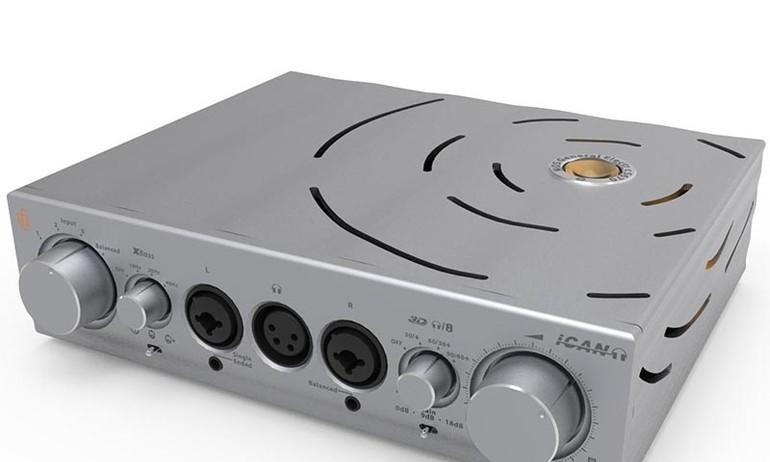 """iFi Audio ra mắt Pro iCAN – Hybrid headamp """"khủng"""" hỗ trợ xuất Balanced cho tai nghe"""