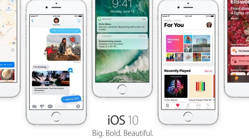 iOS 10 ra mắt: Quá nhiều cải tiến về giao diện và tính năng