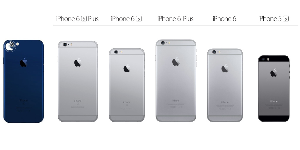Apple bỏ màu xám không gian trên iPhone 7, thay bằng xanh đậm?