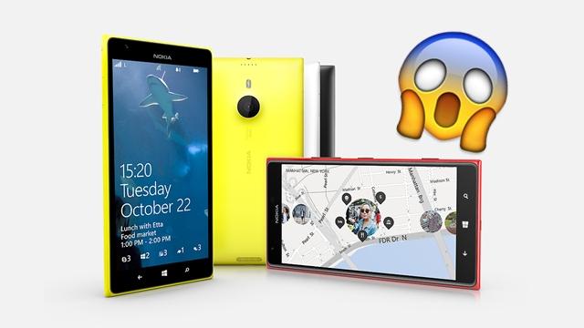 """""""Hết hồn"""" Lumia 1520 trở lại với giá… 13 triệu"""