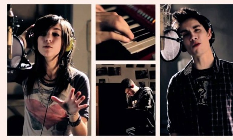 "Sam Tsui tiễn đưa Christina Grimmie bằng ""Just A Dream"""