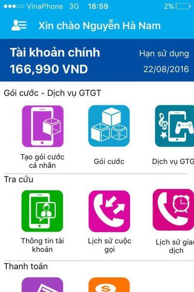 Nhận ngay 2.5GB lưu lượng Internet với ứng dụng My Vinaphone