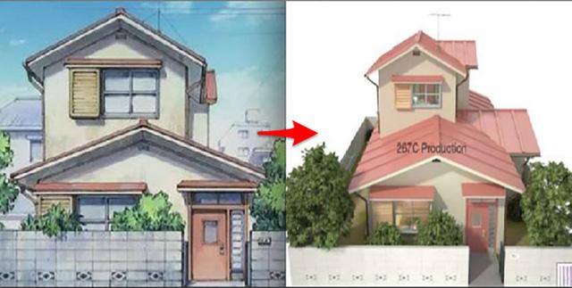 Thăm nhà của Nobita qua video 3D chuẩn đến từng ngóc ngách