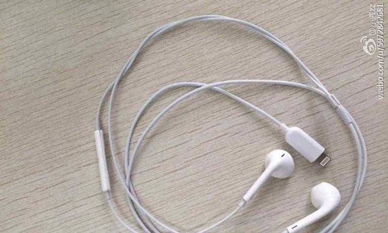 Lộ diện hình ảnh tai nghe dùng cổng Lightning bán kèm iPhone 7