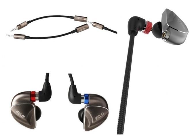 Fidue ra mắt tai nghe đầu bảng A91: thiết kế hybrid, 5 driver 5 đường tiếng