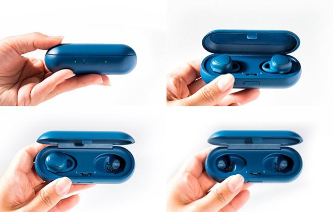 Samsung Gear IconX chính thức: tai nghe không dây thực sự, đo sức khỏe