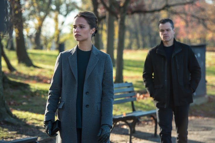 Alicia Vikander hành trình thành nữ hacker nguy hiểm trong Jason Bourne