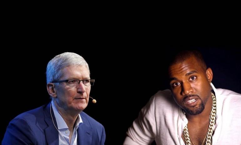 """Kanye West tới Tim Cook: """"Đừng bắt chước Steve Jobs nữa"""""""