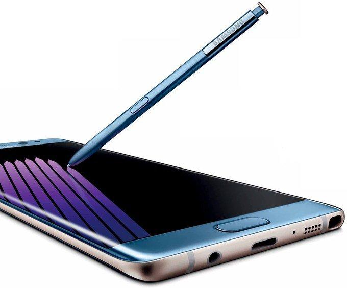 Galaxy Note 7 có thể dùng SPen dưới nước, sạc nhanh mới?