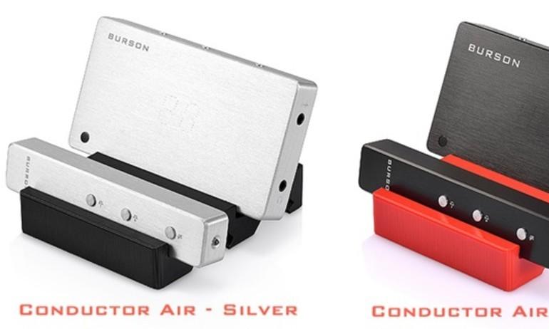 Burson Conductor Air: DAC kiêm ampli tai nghe Hi-Fi kích thước bỏ túi