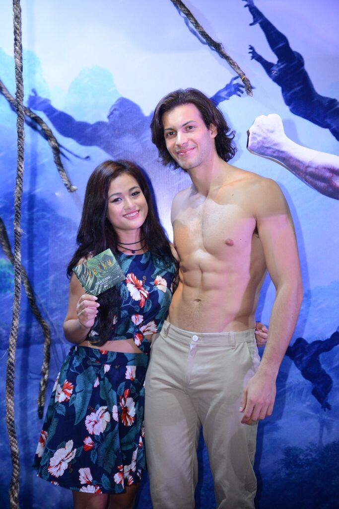 Dàn sao Việt nô nức đi xem Huyền Thoại Tarzan