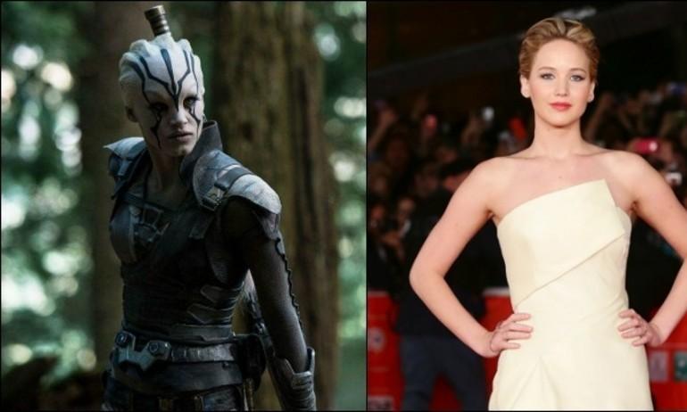 Jennifer Lawrence là cảm hứng cho chiến binh Star Trek: Beyond
