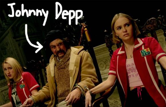"""Johnny Depp mang con gái """"rượu"""" lên màn ảnh"""