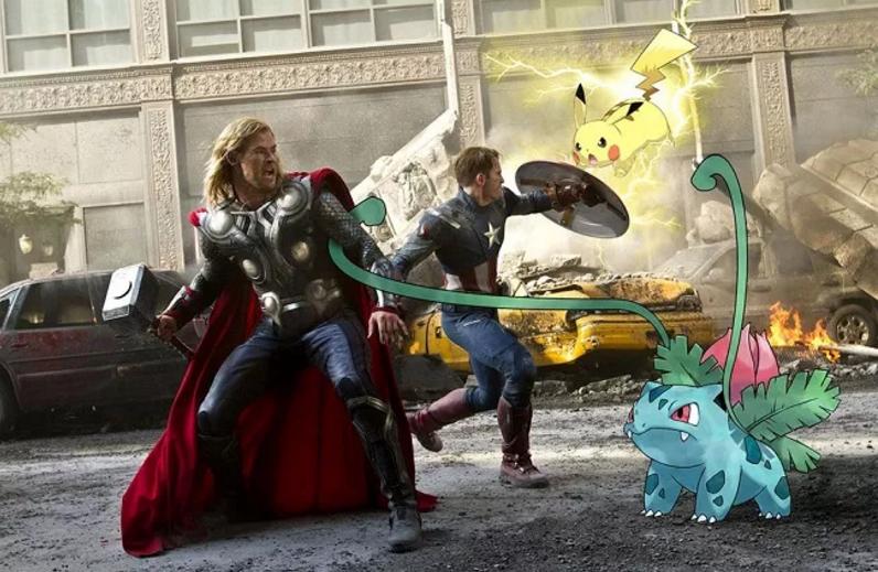 Khi Pokemon dấn thân làm minh tinh màn bạc