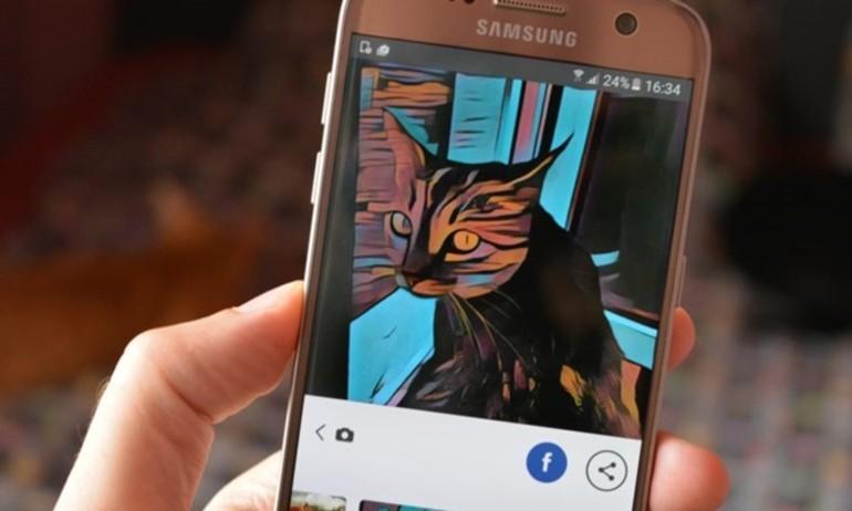 Đã được dùng ứng dụng siêu hot Prisma trên Android