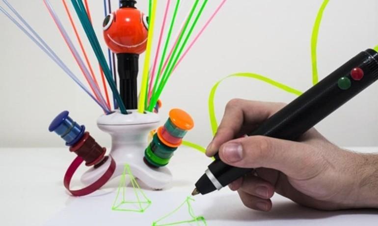 Renegade: Bút 3D biến nhựa phế thải thành đồ vật mong ước