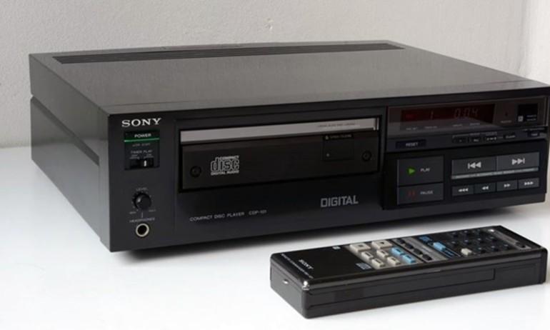 Ngắm Sony CDP-101: đầu CD đầu tiên trên thế giới