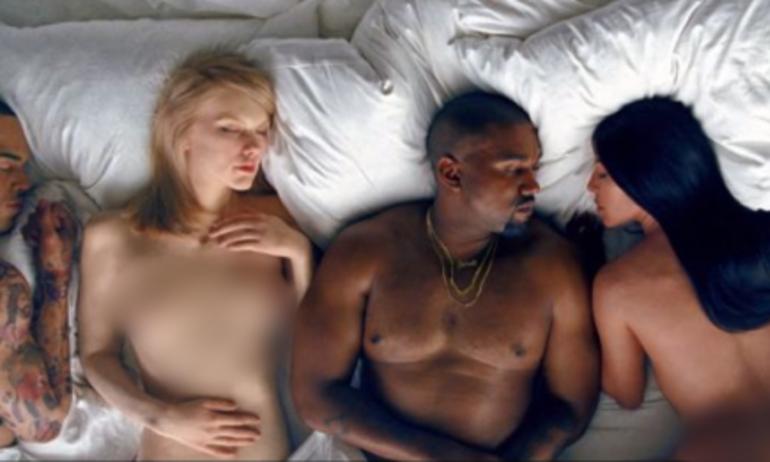 """Tha hồ ngắm """"tuyệt tác"""" trần trụi của Kanye West trên Youtube"""