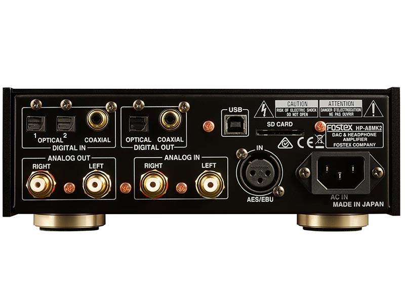 Fostex ra mắt combo headamp/DAC HP-A8 MkII cao cấp, giá 22 triệu đồng