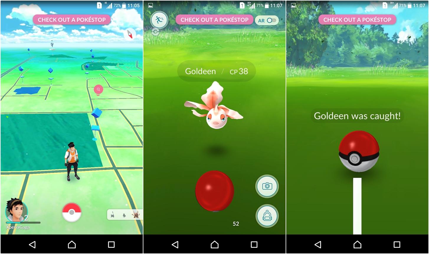 Đã có thể chơi Pokemon Go, xách smartphone lên và đi thôi!
